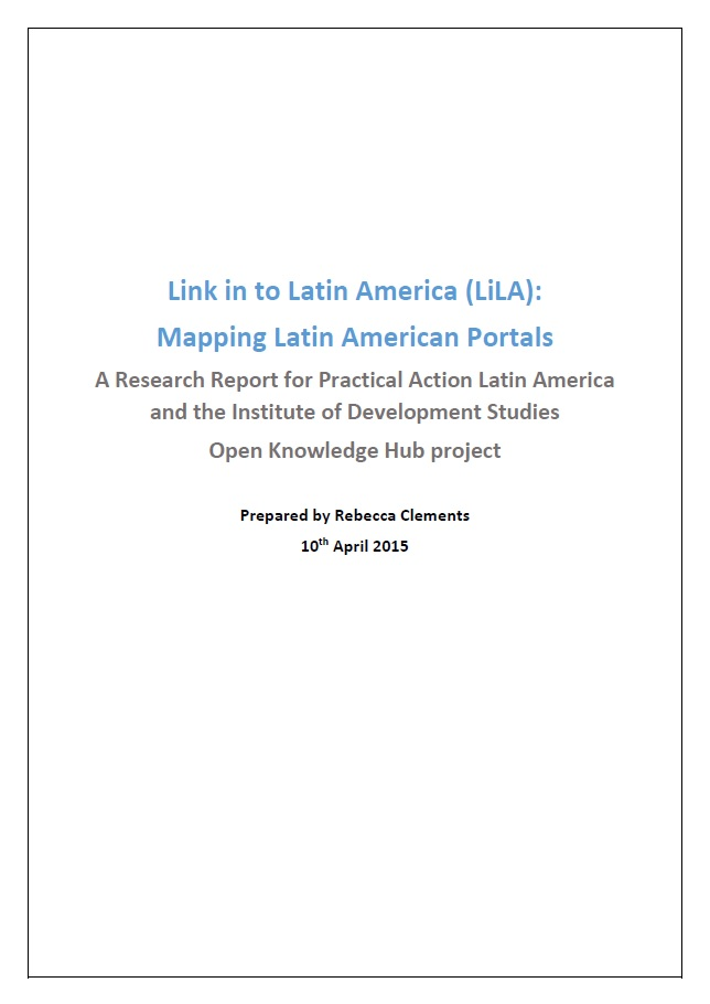 LiLa research coverpage
